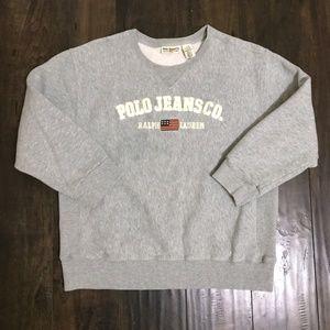 Polo Jeans Co. Ralph Lauren Embroidered Sweatshirt